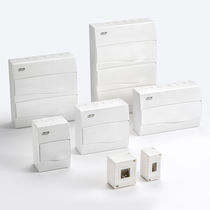 Distribution electrical enclosure / wall-mounted / ABS / IP40