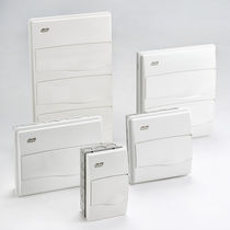 Wall-mounted electrical enclosure / ABS / for low-voltage power distribution / IP40