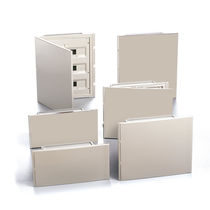 ABS electrical enclosure / wall-mounted / timing / for low-voltage power distribution