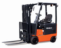 Ride-on forklift / electric / handling / cushion tire
