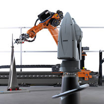Laser tracker-based measuring system robot / articulated / 6-axis / industrial