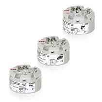 Probe head-mounted temperature transmitter / thermocouple / HART / PROFIBUS