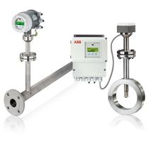 Mass flow meter / thermal / for gas / for air