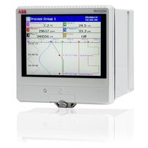 Paperless recorder / USB / Ethernet / with touchscreen