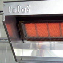 Gas radiant heater