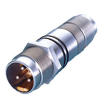 Electric connector / circular / bayonet / multipolar