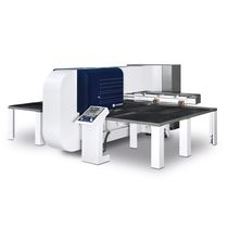 Automatic punching machine / CNC / servo-electric / for metal sheets