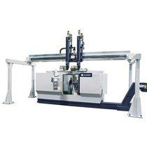 CNC lathe / for coupling sleeve machining