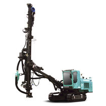 Blasthole drilling rig / crawler / tophammer / hydraulic