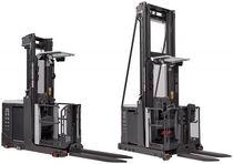 Electric order-picker / vertical / high-level / multipurpose