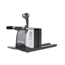 Electric pallet truck / with rider platform / stand-on / handling