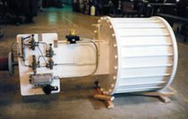 In-line actuator / pneumatic / double-acting
