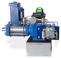 Quarter-turn valve actuator / hydraulic / double-acting / piston