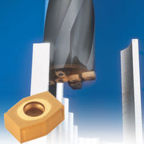 Shell-end milling cutter / insert / roughing / plunge