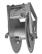 Hose reel / motorized / fixed / for crude oil