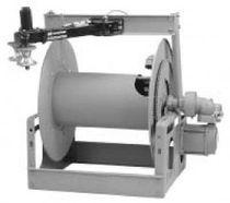 Hose reel / motorized / open / for LPG