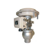 Diaphragm valve / pneumatically-operated / flow-control / pressure-control