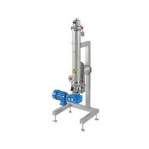 Scraped surface heat exchanger / liquid/liquid / stainless steel / for viscous products