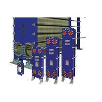Gasketed plate heat exchanger / liquid/liquid / industrial