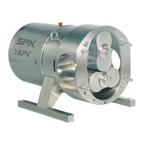 Rotary lobe pump / for chemicals / for beverages / for dairy products