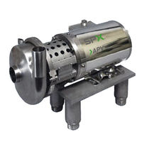 Centrifugal pump / for chemicals / for beverages / for dairy products