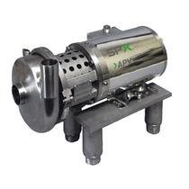 Centrifugal pump / self-priming / for beverages / control