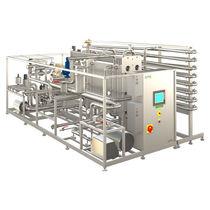 Automatic pasteurizer / continuous / fruit juice