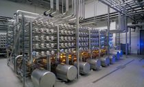 Membrane nano-filtration plant