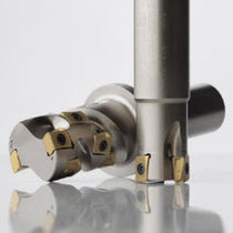 Shell-end milling cutter / insert / roughing / semi-finishing