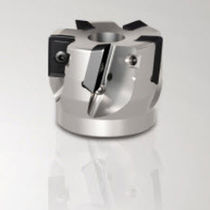 Shell-end milling cutter / insert / roughing / shoulder