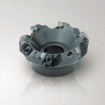 Insert milling cutter / shoulder / square-head / high-speed
