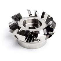 Shell-end milling cutter / insert / face / coated