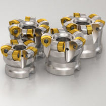 Shell-end milling cutter / insert / copying / cutting edge