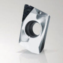 Turning cutting insert / PCD / for graphite machining / square