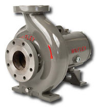 Chemical pump / electric / centrifugal / normal priming