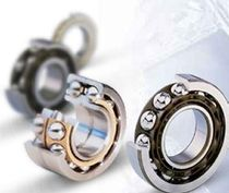 Ball bearing / four-point-contact / steel