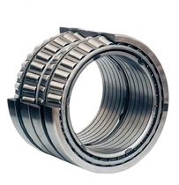 Tapered roller bearing / four-row / steel