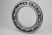 Ball bearing / deep groove / steel / large