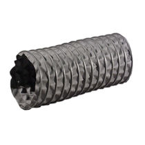 Exhaust gas hoses / fabric / flexible