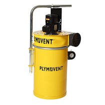 Oil mist collector / smoke / filtration media / machine-mount