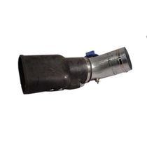 Exhaust gas extraction nozzle