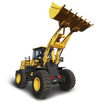 Rubber-tired loader / articulated / for construction