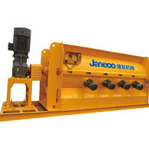 Screed mixing and coveying machine