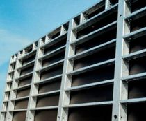 Wall formwork / metal / concrete