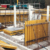 Wall formwork / steel / large