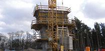 Fixed scaffolding / modular / climbing / facade