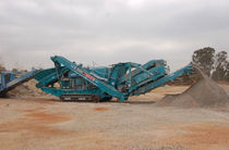 Cone crusher / mobile / crawler