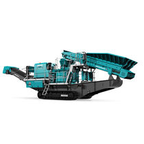 Impact crusher / mobile / sand production / crawler