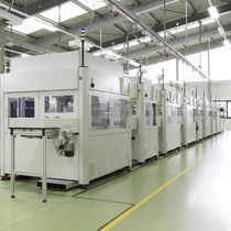 Semi-automatic assembly line / marking / for welding