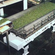 Vibrating conveyor / horizontal / for process applications